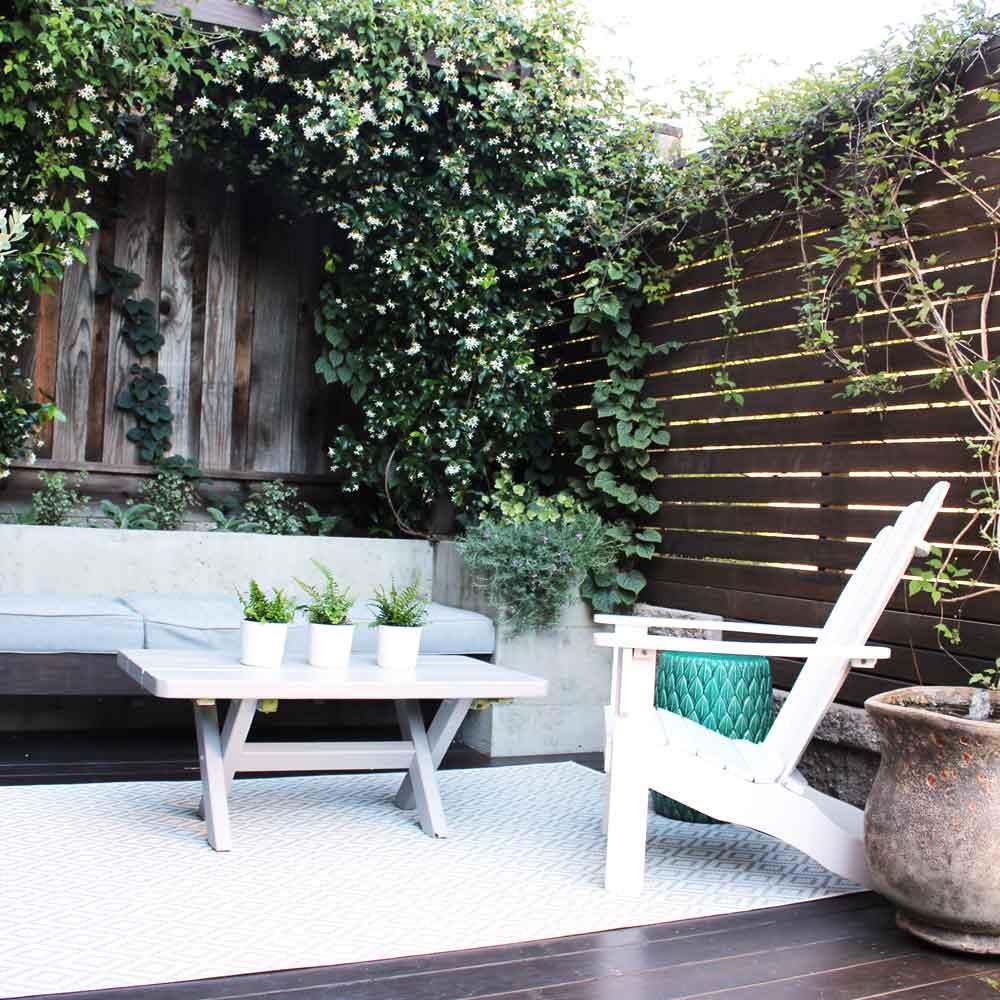 Landscape Design - Back Deck 1