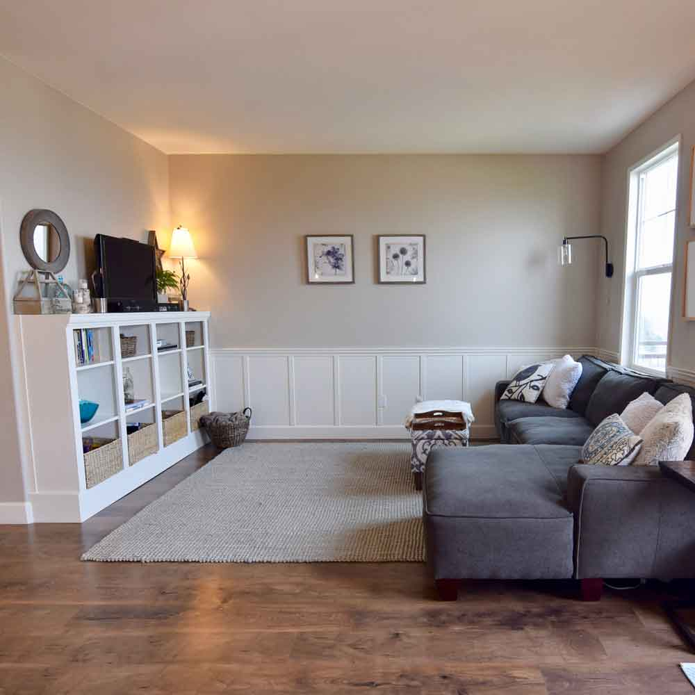 Interior Design - Living Room (Old House)