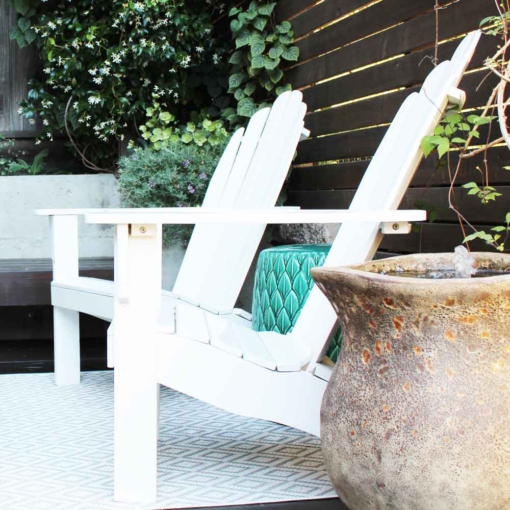 Landscape Design - Back Deck (detail)