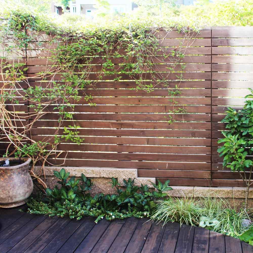 Landscape Design - Back Deck