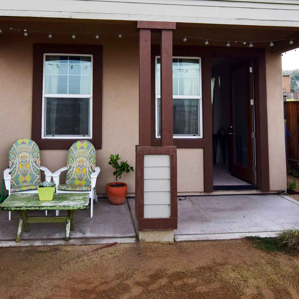 Landscape Design - Back Yard (Old House)
